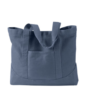 Authentic Pigment 14 oz. Pigment-Dyed Large Canvas Tote - 1904