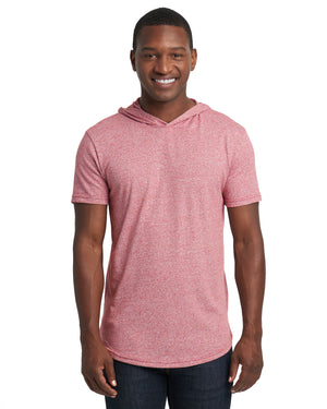 Next Level Unisex Mock Twist Short Sleeve Hoody T-Shirt - 2022