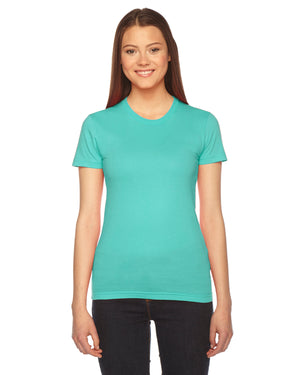 American Apparel Ladies' Fine Jersey Short-Sleeve T-Shirt - 2102W