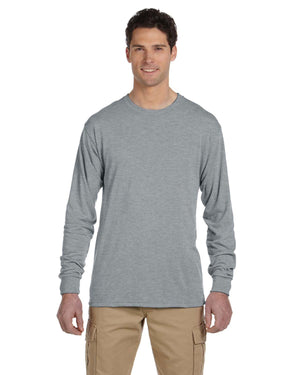 Jerzees Adult 5.3 oz. DRI-POWER® SPORT Long-Sleeve T-Shirt - 21ML