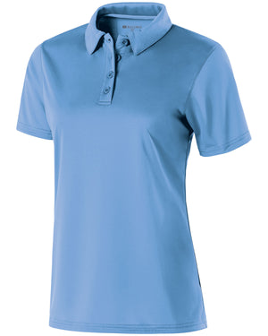 Holloway Ladies Polyester Textured Stripe Shift Polo - 222319