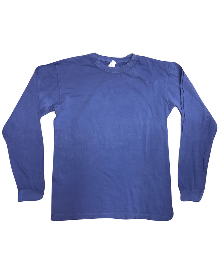 Collegiate Cotton Long Sleeve T-Shirt - 2233