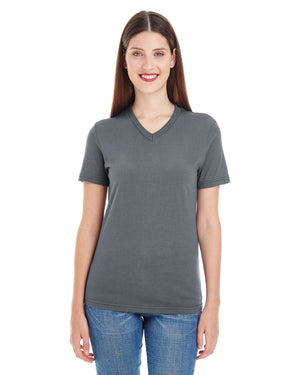 American Apparel Ladies' Fine Jersey Short-Sleeve V-Neck - 2356W