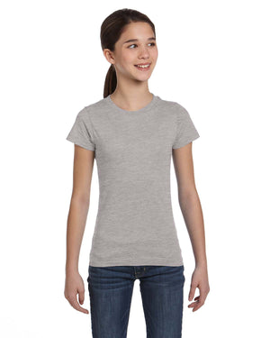 LAT Girls' Fine Jersey T-Shirt - 2616