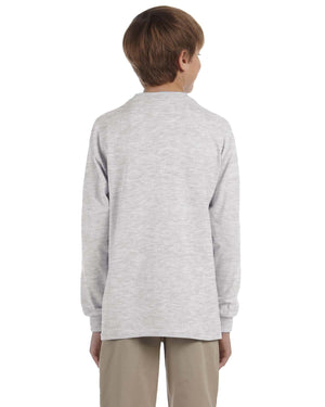 Jerzees Youth 5.6 oz. DRI-POWER® ACTIVE Long-Sleeve T-Shirt - 29BL