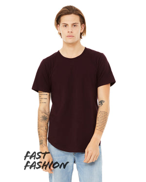 Bella + Canvas Fast Fashion Men's Curved Hem Short Sleeve T-Shirt - 3003C