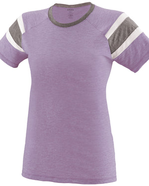 Augusta Drop Ship Girls' Fanatic Short-Sleeve T-Shirt - 3014