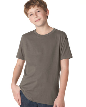Next Level Youth Boys' Cotton Crew - 3310