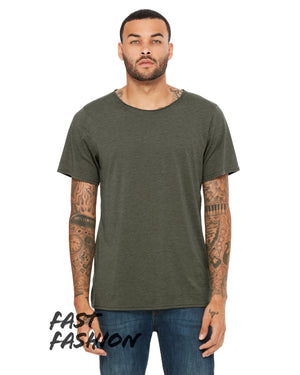 Bella + Canvas Fast Fashion Unisex Triblend Raw Neck T-Shirt - 3414C