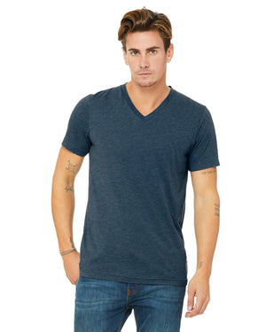 Bella + Canvas Unisex Triblend V-Neck T-Shirt - 3415C