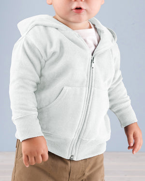 Rabbit Skins Infant Zip Fleece Hoodie - 3446