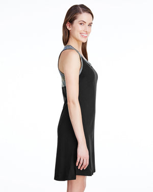 LAT Ladies' Racerback Tank Dress - 3523