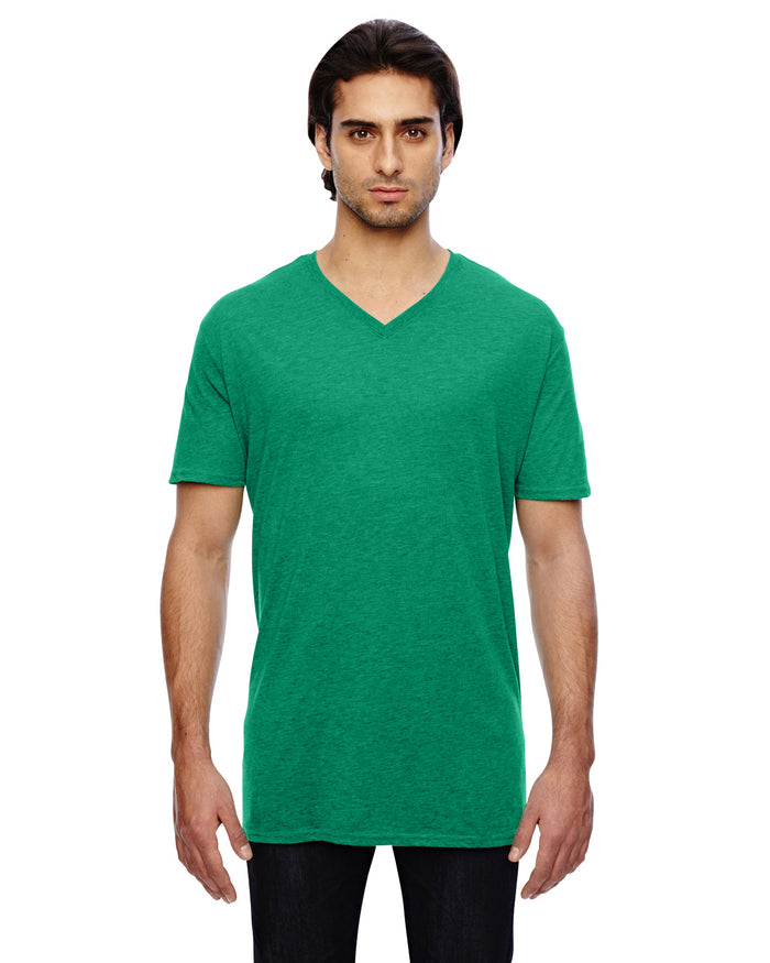 Anvil Adult Featherweight V-Neck T-Shirt - 352