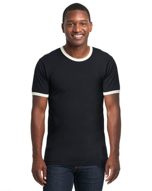 Next Level Unisex Ringer T-Shirt - 3604