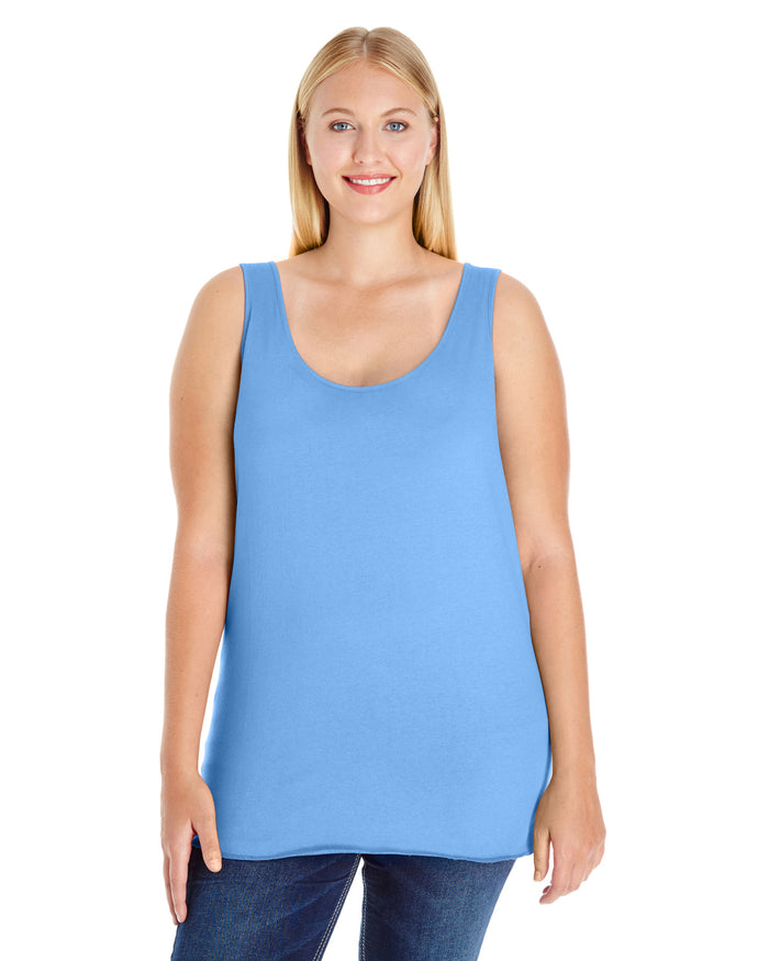 LAT Ladies' Curvy Tank - 3821
