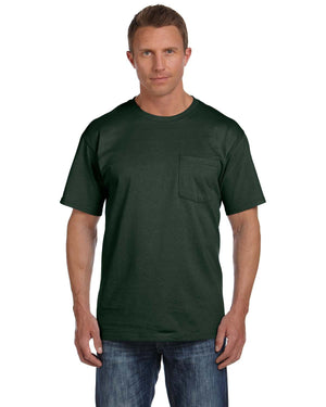 Fruit of the Loom Adult 5 oz. HD Cotton™ Pocket T-Shirt - 3931P