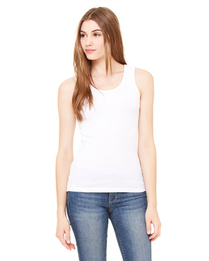 Bella + Canvas Ladies' 2x1 Rib Tank - 4000