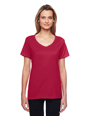 Hanes Ladies' 4.5 oz. X-Temp® Performance V-Neck - 42V0