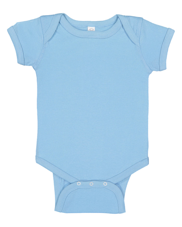 Rabbit Skins Infant Baby Rib Bodysuit - 4400
