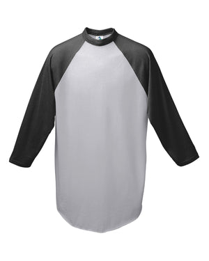 Augusta Drop Ship Youth 3/4-Sleeve Baseball Jersey - 4421