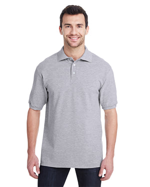 Jerzees Adult 6.5 oz. Premium 100% Ringspun Cotton Piqué Polo - 443MR