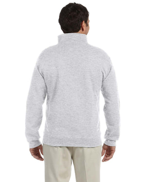 Jerzees Adult 9.5 oz. Super Sweats® NuBlend® Fleece Quarter-Zip Pullover - 4528