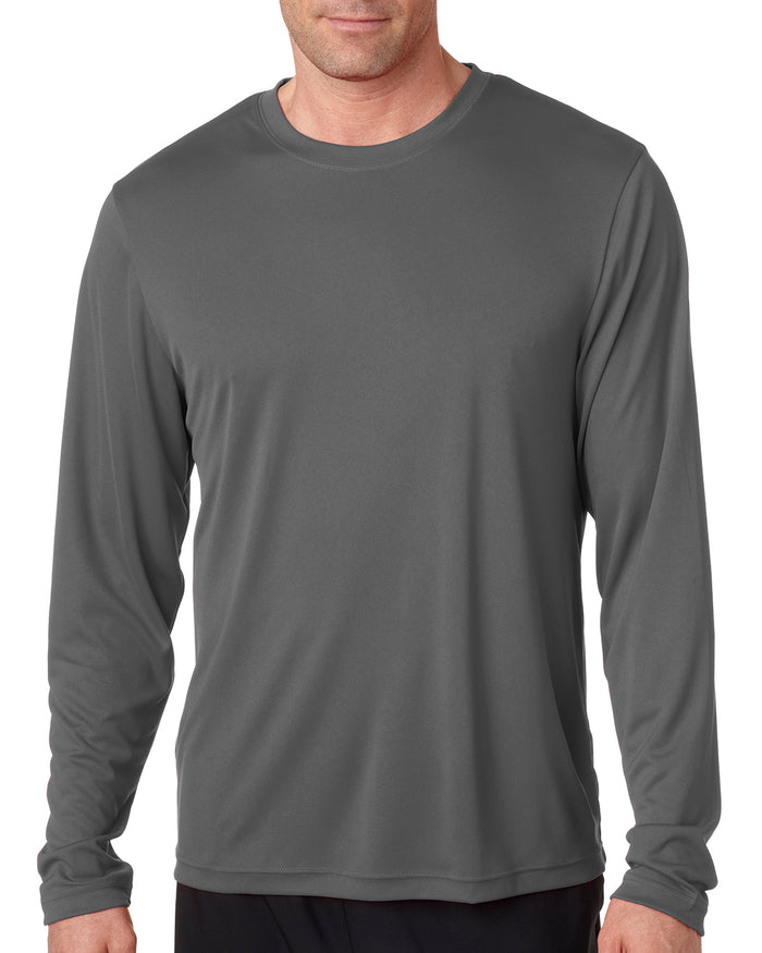 Hanes Adult Cool DRI® with FreshIQ Long-Sleeve Performance T-Shirt - 482L