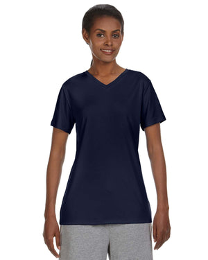 Hanes Ladies' Cool DRI® with FreshIQ V-Neck Performance T-Shirt - 483V
