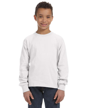 Fruit of the Loom Youth 5 oz. HD Cotton™ Long-Sleeve T-Shirt - 4930B