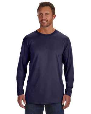 Hanes Adult 4.5 oz., 100% Ringspun Cotton nano-T® Long-Sleeve T-Shirt - 498L