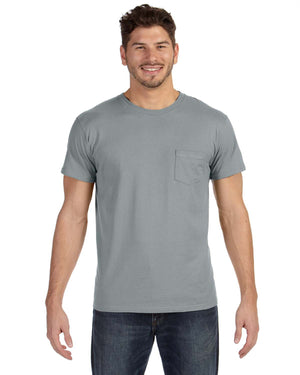 Hanes Adult 4.5 oz., 100% Ringspun Cotton nano-T® T-Shirt with Pocket - 498P