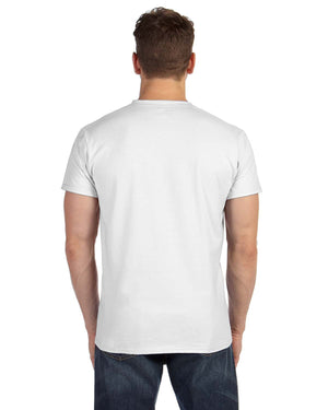 Hanes Adult 4.5 oz., 100% Ringspun Cotton nano-T® V-Neck T-Shirt - 498V