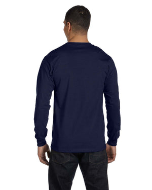 Hanes Adult 6.1 oz. Long-Sleeve Beefy-T® - 5186
