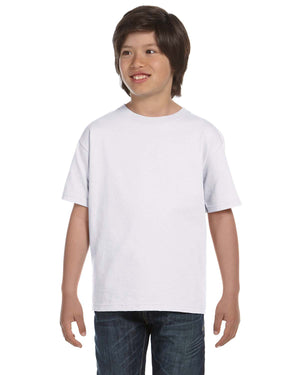 Hanes Youth 5.2 oz., Comfortsoft® Cotton T-Shirt - 5480