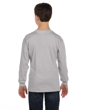 Hanes Youth 6.1 oz. Tagless® Long-Sleeve T-Shirt - 5546