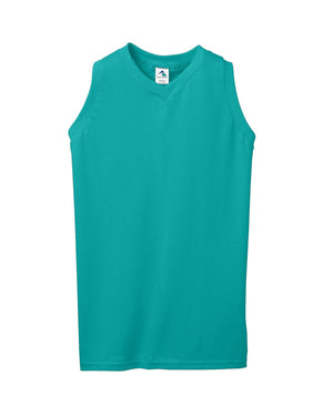Augusta Drop Ship Ladies' Sleeveless V-Neck Shirt - 556