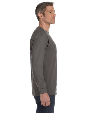 Hanes Unisex 6.1 oz. Tagless® Long-Sleeve T-Shirt - 5586