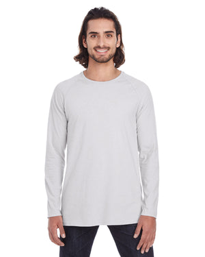 Anvil Adult Lightweight Long & Lean Raglan Long-Sleeve T-Shirt - 5628