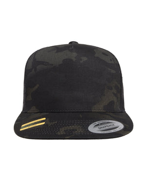 Yupoong Classics™ Adult 5-Panel Multicam® Trucker Cap - 6006MC