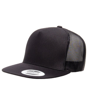 Yupoong Adult 5-Panel Classic Trucker Cap - 6006