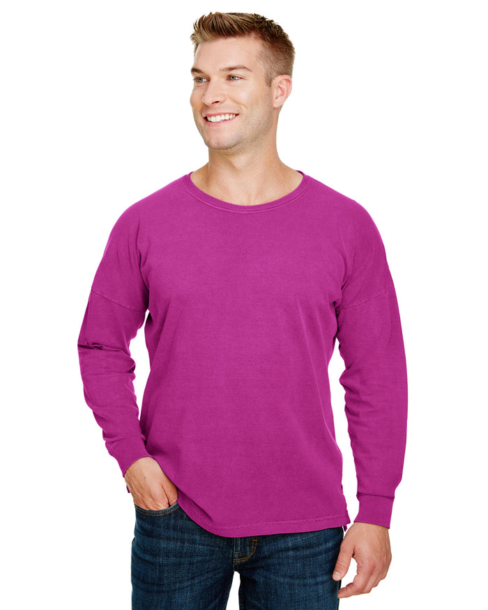 Comfort Colors Adult Heavyweight RS Oversized Long-Sleeve T-Shirt - 6054