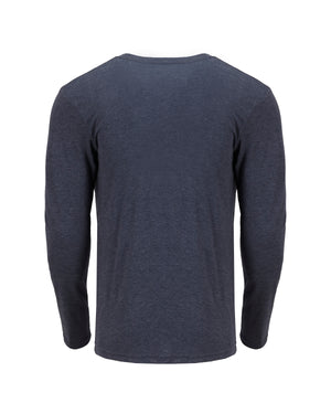 Next Level Men's Triblend Long-Sleeve Crew - 6071