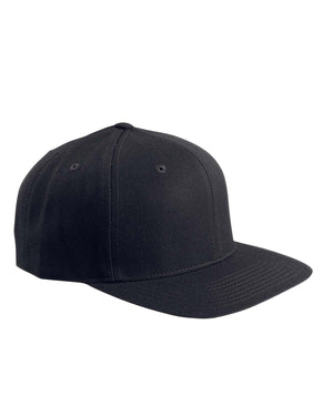 Yupoong Adult 6-Panel Structured Flat Visor Classic Snapback - 6089