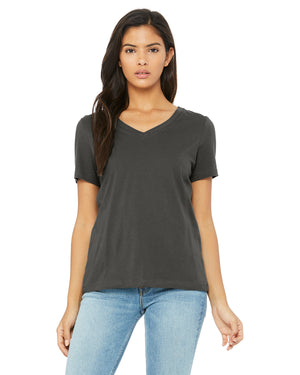 Bella + Canvas Ladies' Relaxed Jersey V-Neck T-Shirt - 6405