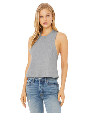 Bella + Canvas Ladies' Racerback Cropped Tank - 6682
