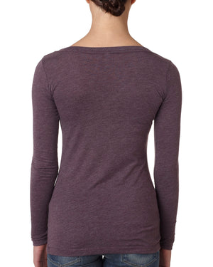 Next Level Ladies' Triblend Long-Sleeve Scoop - 6731