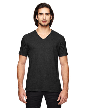 Anvil Adult Triblend V-Neck T-Shirt - 6752