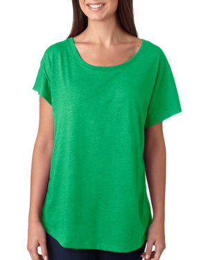 Next Level Ladies' Triblend Dolman - 6760