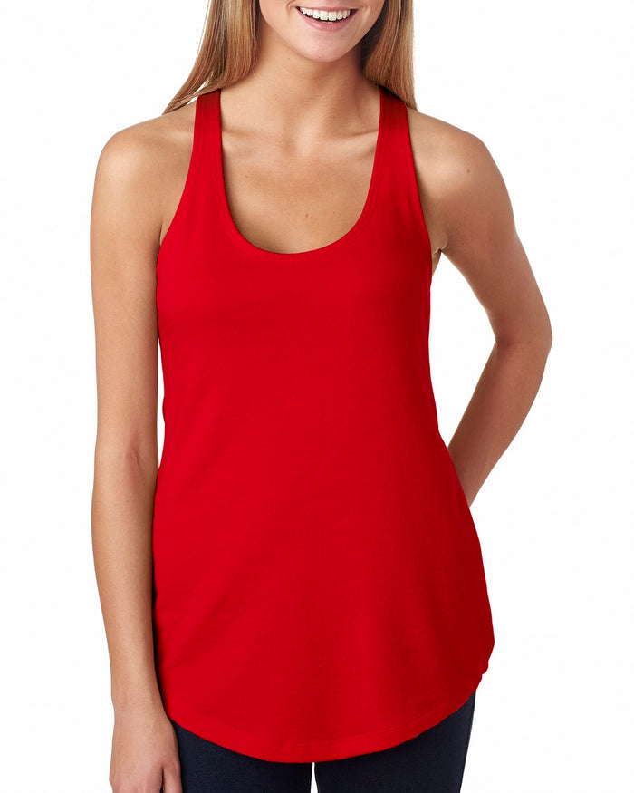 Next Level Ladies' French Terry Racerback Tank - 6933