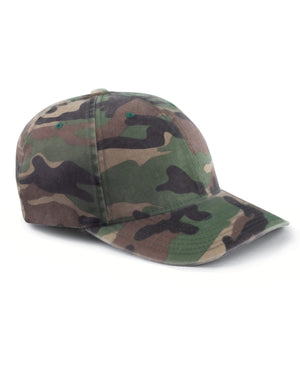 Flexfit Adult Cotton Camouflage Cap - 6977CA